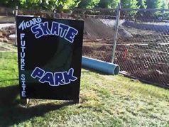 Tigard skatepark - another sign