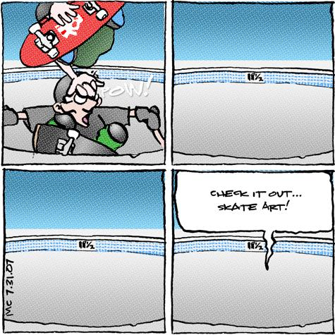 comic228 skate art