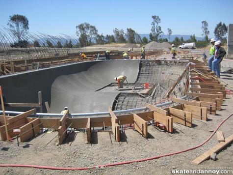 San Jose in progress