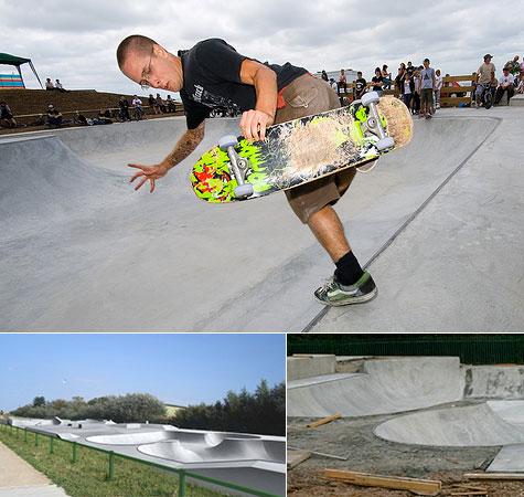 Swalecliffe skatepark opens
