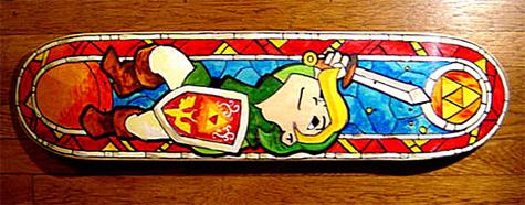 Legend of Zelda Skateboard