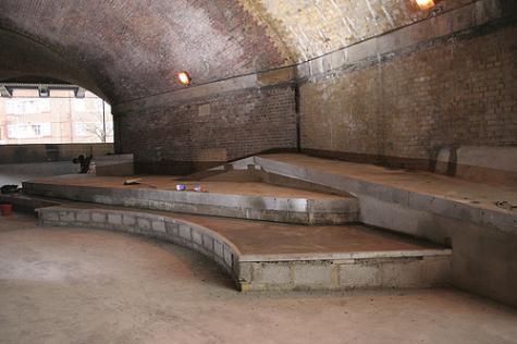 London skate plaza