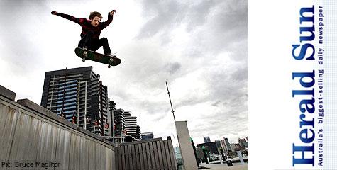 Skaters shun parks for concrete jungle
