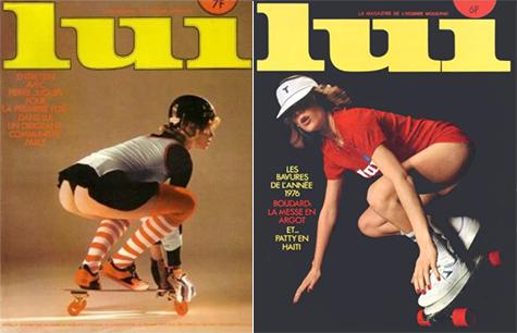 Lui Skateboard covers