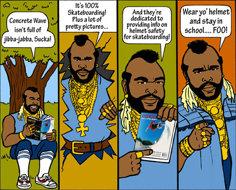 Mr T and Concrete Wave