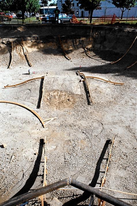 Tigard bowl area
