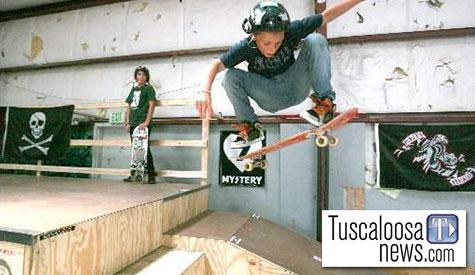 Tuscaloosa News skatepark