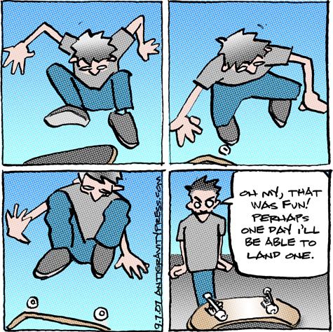comic254 flip tricks