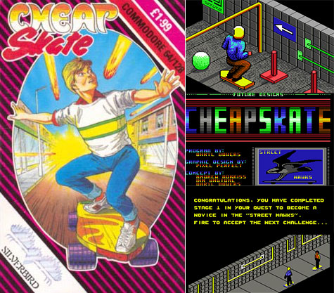 Commodore 64 - Cheap Skate