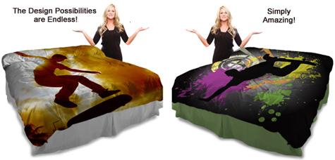 Skateboard Bedding
