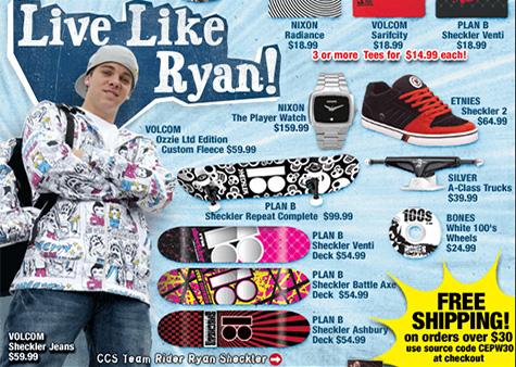 Ryan Sheckler's pants