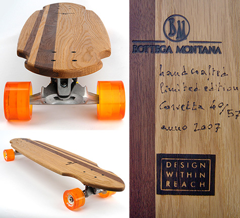 Bottega Montana-Design Within Reach skateboard
