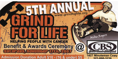 Grind for Life 2007