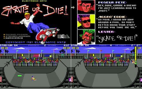 Skate or Die game