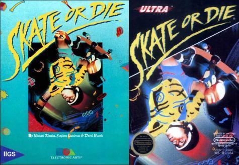 Skate or Die boxes