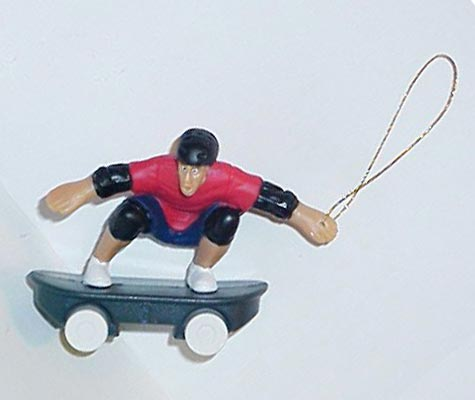 Tony Hawk x-mas ornament