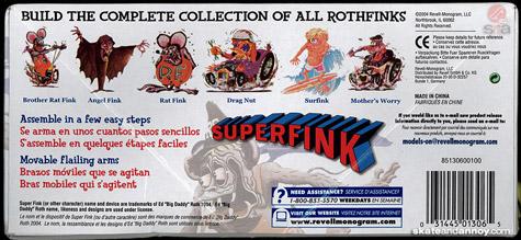 Superfink model reissue