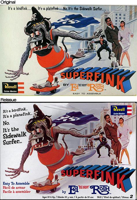 Superfink model comparison