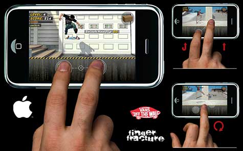 iPhone skate game concept