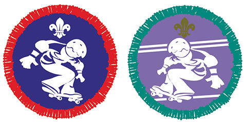 Boy Scouts Street Sports Activity badges