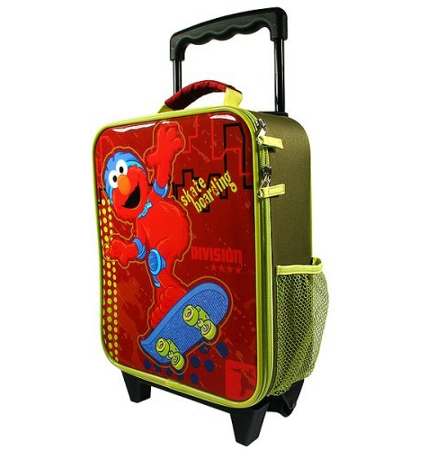 Elmo skate luggage