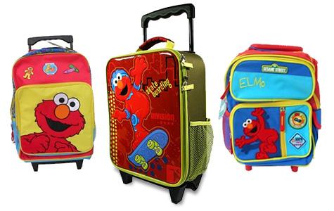 Elmo kids luggage
