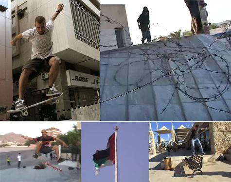 Middle East skateboarding