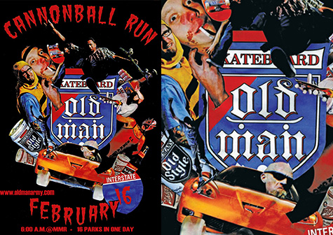 Cannonball Run - Old Man Army
