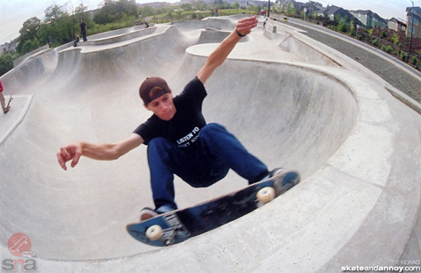 West Linn skatepark 2002