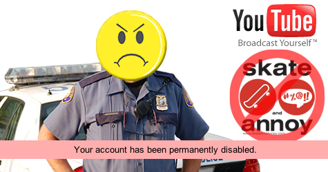 banned form YouTube