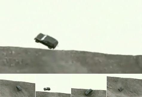 car as skateboard