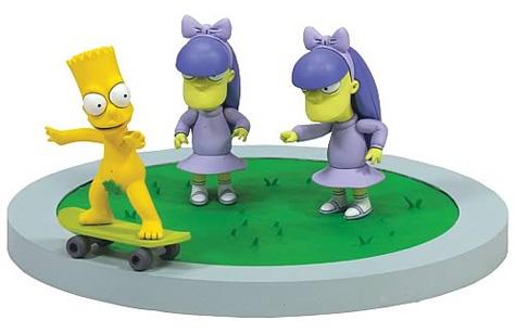 Apologise, but, Bart simpson skateboarding naked
