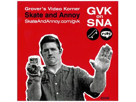 GVK Sticker detail
