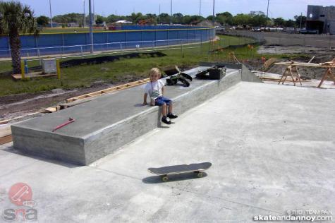 St. Lucie skatepark construction