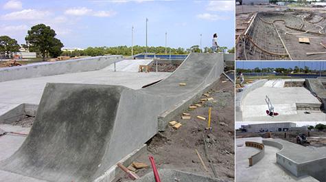 St. Lucie Florida skatepark progress