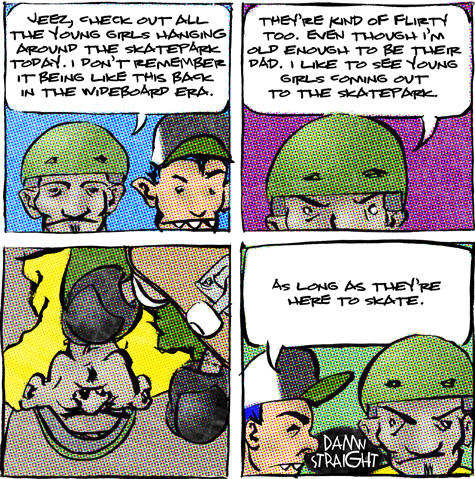 skate comic about the young girls