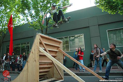 Cal Skates street fair Skate Jam