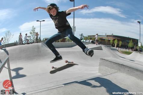 Jason at Sammamish Washington skatepark