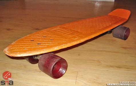Vintage Skuda skateboard 5