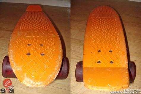 Vintage Skuda skateboard 6