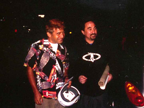 Tom Fain and Steve Caballero