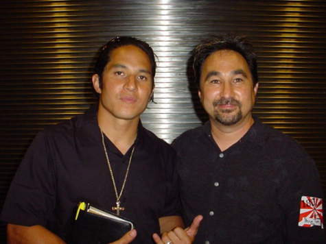 Tom Fain and Christian Hosoi