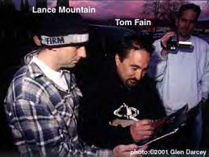 Tom Fain and Lance Mountain
