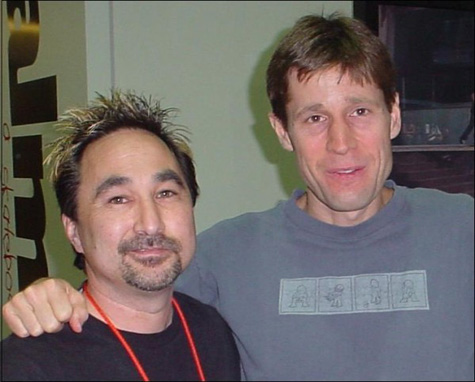 Tom Fain and Rodney Mullen