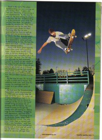 Tom Fain in Skatepark Magazine (2)