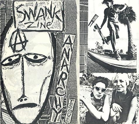 Swank Zine: Anarchy Issue
