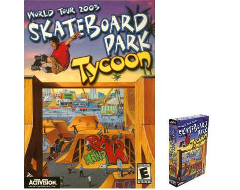 Skateboard Park Tycoon 2003 World Tour