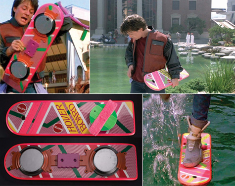 Back to the Future Hoverboard auction