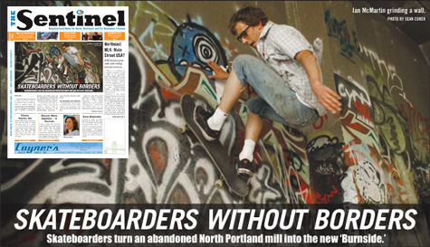 Portland Sentinel on Skateboarders Without Borders