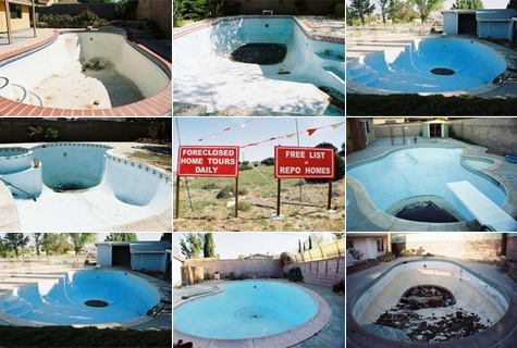 Foreclosed homes with pools